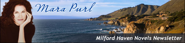 Mara Purl | Milford Haven Novels Newsletter